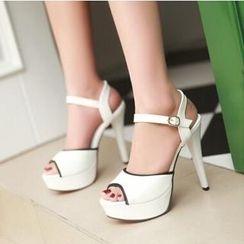 Tomma - Platform Heel Sandals