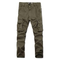 MR.PARK - Pocket-Detail Cargo Pants
