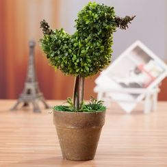 Retro Times - 植物桌面装饰品