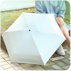 Momoi - Striped Compact Umbrella
