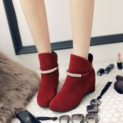 佳美 - 珠饰内增高及踝靴