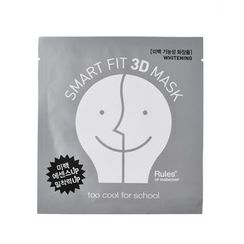 too cool for school - Smart Fit 3D Mask (Whitening) 1pc