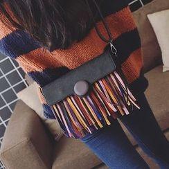 Secret Garden - Fringed Shoulder Bag