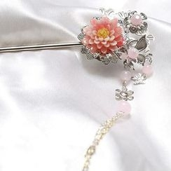 Paparazzi - Floral Hair Pin