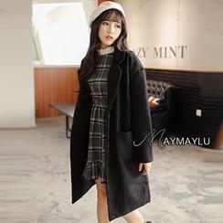 Maymaylu Dreams - Woolen Long Coat