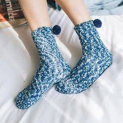 Azalea - Pom Pom Socks