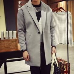 Flambeau - Notch Lapel Long Coat