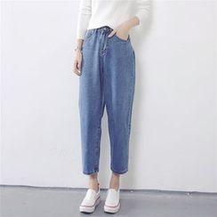 Chililala - Cropped Harem Jeans