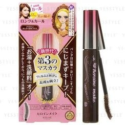 伊势半 - Kiss Me Heroine Make Long & Curl Mascara Adcanced Film (#02 Brown)