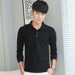SOLER - Long-Sleeve Polo Shirt
