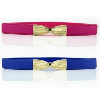 Cuteberry - Metal-Bow Elasticized Belt