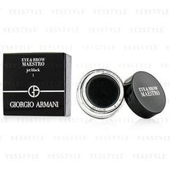 Giorgio Armani 乔治亚曼尼 - Eye and Brow Maestro (#01 Jet Black)