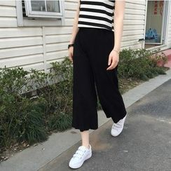 Whitney's Shop - Cropped Wide Leg Pants