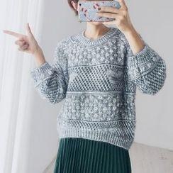 Maymaylu Dreams - Open Knit Top