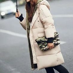 Neeya - 風帽填料大衣