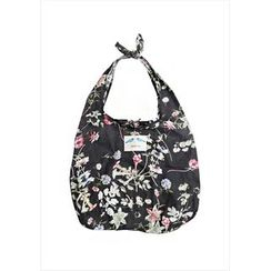 GOROKE - Floral Print Shopper Bag