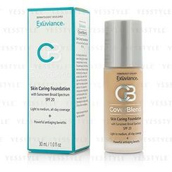Exuviance - CoverBlend Skin Caring Foundation SPF20 (Warm Beige)