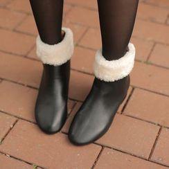 Cherryville - Faux-Fur Ankle Boots