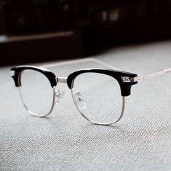 OTUN - Half Frame Square Glasses