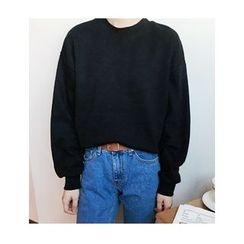 FROMBEGINNING - Colored Cotton Sweatshirt