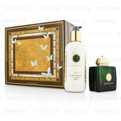 Amouage - Epic Coffret: Eau De Parfum Spray 100ml/3.4oz + Body Lotion 300ml/10oz