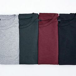 chuu - Drop-Shoulder Cotton T-Shirt