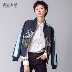 Cloudwood - Embroidered Bomber Jacket