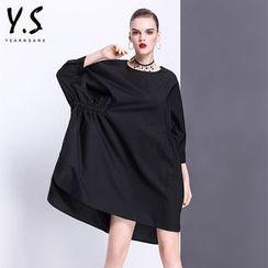 Y:Q - 蝙蝠袖直筒連衣裙