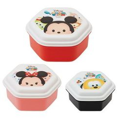 Skater - Tsum Tsum Dome Lid Food Container Set (3 Pieces)