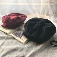 Hats 'n' Tales - Corduroy Beret Hat