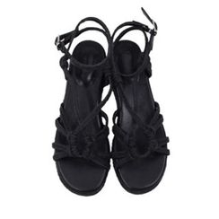 maybe-baby - Braided-Strap Sandals