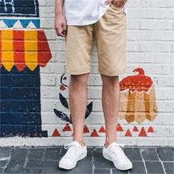 STYLEMAN - Band-Waist Shorts