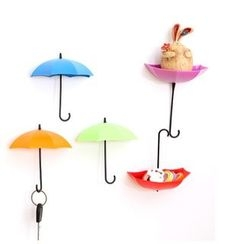 Good Living - Set of 3: Umbrella Wall Hooks