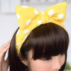 59 Seconds - Dot Bow Hair Tie