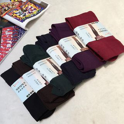 RUI - 純色襪褲