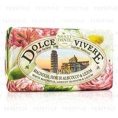 Nesti Dante - Dolce Vivere Fine Natural Soap - Pisa - White Magnolia, Apricot Blossom and Lilium