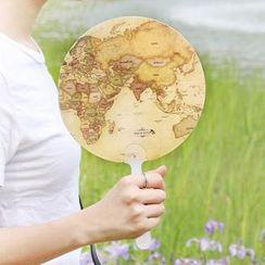 iswas - World Map Hand Fan