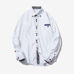 Alvicio - Panel Long-Sleeve Shirt