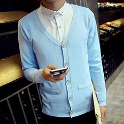 Blueforce - V領開衫