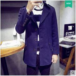 JVR - Single Breasted Tweed Coat
