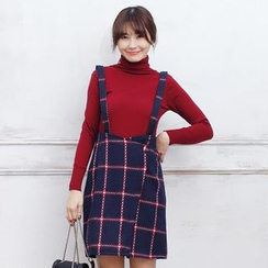 Tokyo Fashion - Plaid Jumper Skirt