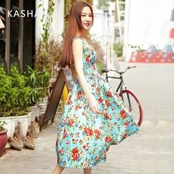 KASHAN - Floral Empire Sundress