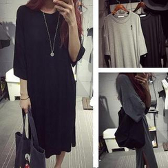 MATO - 3/4-Sleeve T-Shirt Dress