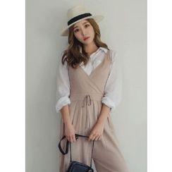 Chlo.D.Manon - Dual-Pocket Linen Blend Shirt