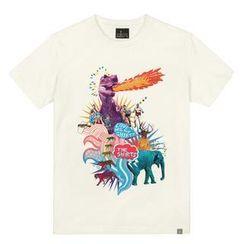 the shirts - Dino's Friend Print T-Shirt
