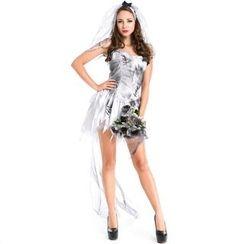Hankikiss - Corpse Bride Party Costume