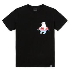 the shirts - Polar Bear in Swimming Tube Print T-Shirt