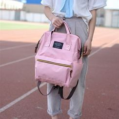 Crystal - Square Canvas Backpack