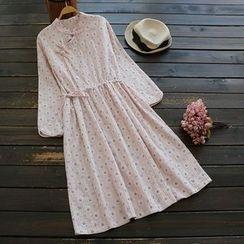 YOYO - Floral A-Line Dress
