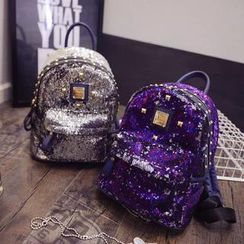 Secret Garden - Glitter Studded Mini Backpack